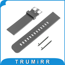 Quick Release Silicone Rubber Watchband 17mm 18mm 19mm 20mm 21mm 22mm Universal Watch Band Bracelet Resin Strap