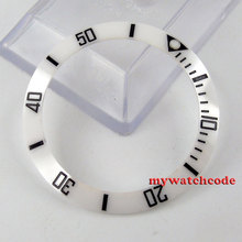 39.8mm white ceramic bezel insert for watch made by parnis factory B15(China)