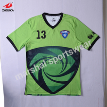 wholesale price t shirt in full sublimation print make own jersey football OEM you own jersey logo camo tshirt(China)