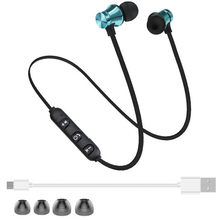 Buy Sport Bluetooth Earphone Earphone Wireless Bluetooth Headphone Xiaomi iPhone Stereo Headset Earpiece Neck headset for $1.49 in AliExpress store