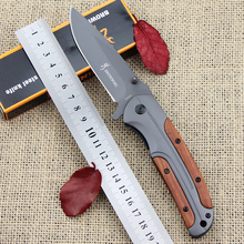 Hot sale! Browning DA43 Tactics Folding Knife Titanium version blade Outdoor Camping Hunting Pocket Survive Knives EDC Tools