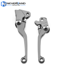 Titanium CNC Pivot Brake Clutch Levers for Yamaha YZ 125 250 250F 426F 450F for Kawasaki KX 125 250 250F 450F for Suzuki RMZ250