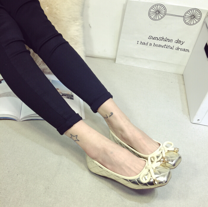 Free shipping  comfortable flat shoes  Ballet Flats shoes large size shoes Women flats   -21519<br><br>Aliexpress