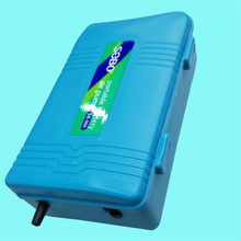 Aquarium Air Pump Silent Dry Cell Battery Operated Fish Tank Single Outlet Oxygen Pump Battery Aerator Compressor