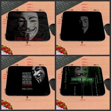 Personality Mask Code Game Antiskid Custom Rectangular Mouse Pad Computer Computer Games To Decorate Your Desk Design As A Gift(China)