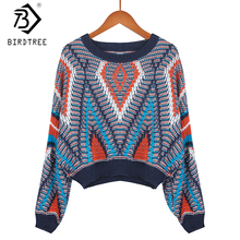 2017 New Fashion Japan Winter Women Sweater Embroidery Sweater Splice Casual Sweet Pullover Knitted O-Neck For Girl Tops C7O402A(China)