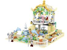 New Princess Mermaid Undersea Garden Building Blocks Model Compatible with Lepin Toys Bricks Best Gift For Girls(China)