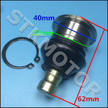 Free Shipping Hisun 500CC 700CC ATV Quad Front lower rocker ball joint pin Tie Rod End 56623-058-0000
