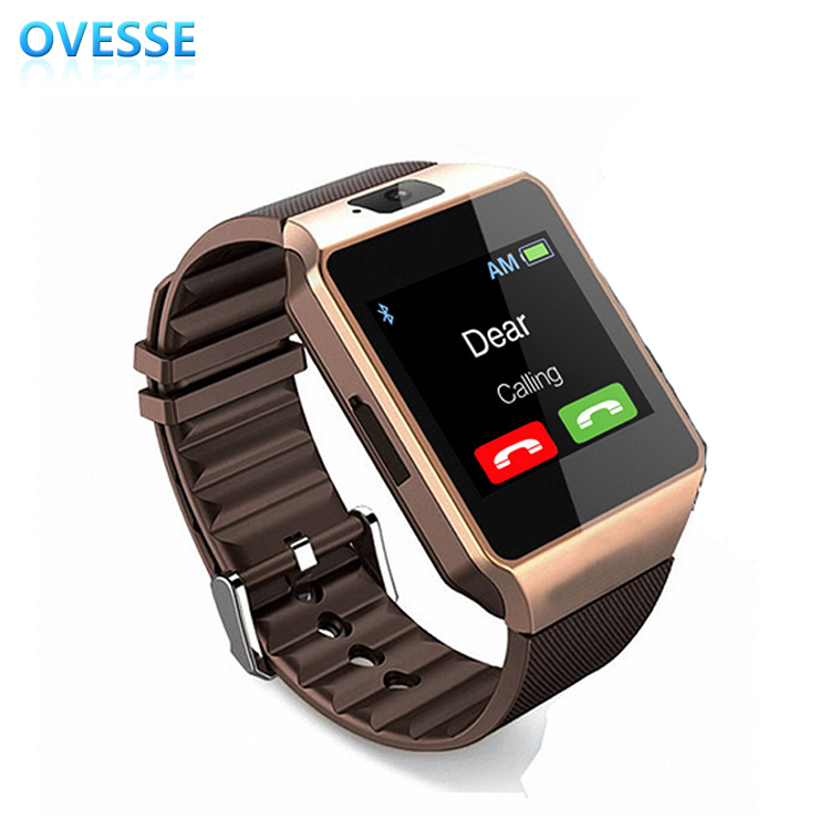2017 Ce Rohs Sport Android Smartwatch Sim card Mobile Watch Phones Fashion Wrist Bluetooth Smart Watch Cheap Price(China)