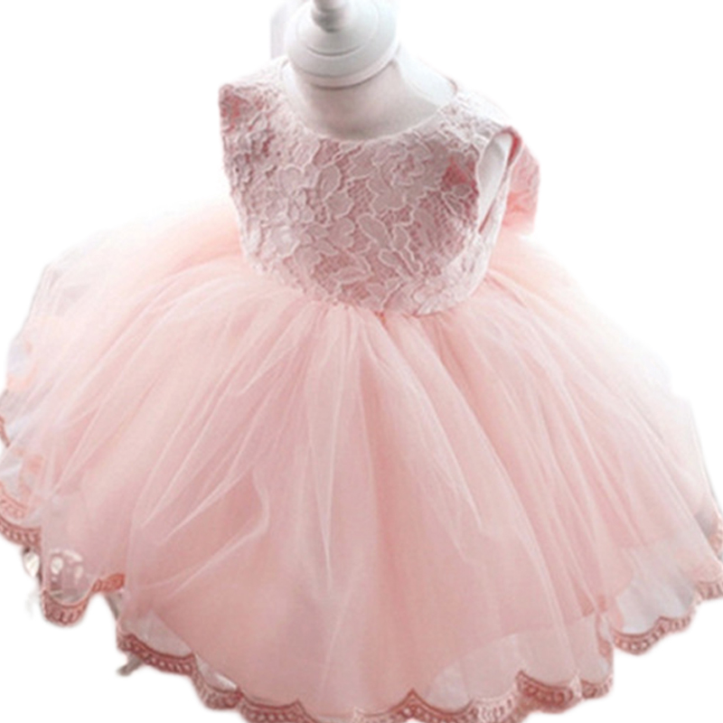 2016 New Pink Lace Flower Girl Dress With Sashes Lace A Line Flower Girl Dresses High Quality Girl Dress for Wedding<br><br>Aliexpress
