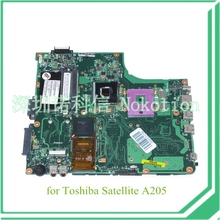 PN 1310A2109427 SPS V000108660 For toshiba satellite A200 A205 Laptop motherboard GM965 DDR2