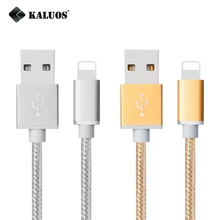 KALUOS 1m 2m 3m Ultra Long Fast Charging USB Data Sync Charger Cable For iPhone 5 5S 6 6S 7 Plus iPad 4 Air 2 Phone Charge Cable