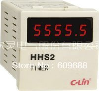 digital Hour counter meter ZYL48(DH48L) 48*48 with socket AC220V