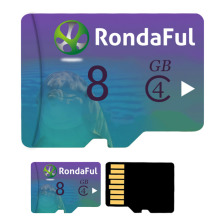 Rondaful Micro SD Card 8GB Class 4 4GB Class 4 UHS-1 C 4 Memory Card Flash Memory Microsd for Smartphone/pc use free shiping(China)