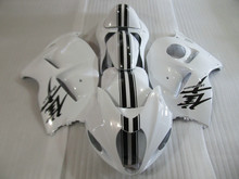 Injection Mold FAIRING KIT for SUZUKI Hayabusa GSXR1300 96 99 00 07 GSXR 1300 1996 2007 White black Fairings set+7gifts SS10