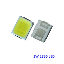 New 1W LED Diode 3V/300ma 2835,6V/150ma 3030,9V 100ma 2835  3V/300ma 3535 100-110lm,Shippping Via Regisitered Air Mail