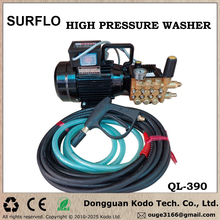 QL-390 copper plunger pump household cleaning machine high pressure washer car wash floor garden cleaning air condition clean
