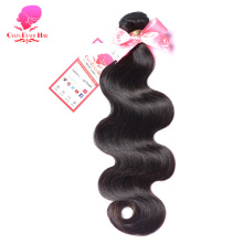 QUEEN BEAUTY HAIR Indian Body Wave Remy Hair Natural Color Human Hair Weave Bundles 8inch To 30inch Free Shipping