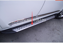 RAV4 Auto Tuning Part High Quality OEM Taiwan style suitable for  RAV4 2006-2012 Side Step Nerf Bar Running Board Fast air