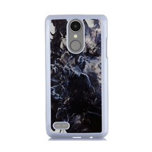 Black Ice Cream Marble Stone Art Printed PC Case for LG K8 2017 For LG K10 2017 Cover Hard Plastic Phone Cases