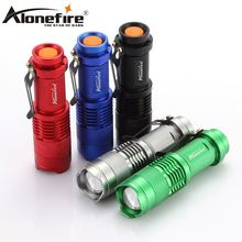 USA EU Hot SK68 CREE XPE Q5 LED Mini Flashlight Portable Zoomable CREE Q5 led torch flashlight lamp Lighting AA 14500