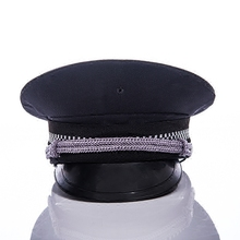 Free shipping new 2014 security apparel & accessories security guard hats & caps men military hats men police hats