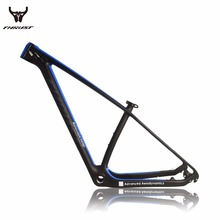 Buy 2017 new T1000 carbon mountain bike frame 142x12 Mountain bicycle frameset thru AXle frame UD matte glossy bicycle frame carbon for $263.25 in AliExpress store