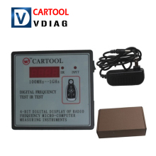 New Car IR Infrared Remote Key Frequency Tester (Frequency Range 100-1000MHZ) Remote Control Digital Frequency Test CARTOOL