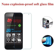 2x New Soft Nano-Coated Tempered Glass Pretective Protectors Films for Explay Neo Bit Rio Hit ATV Onyx JoyTV 4Game Phantom