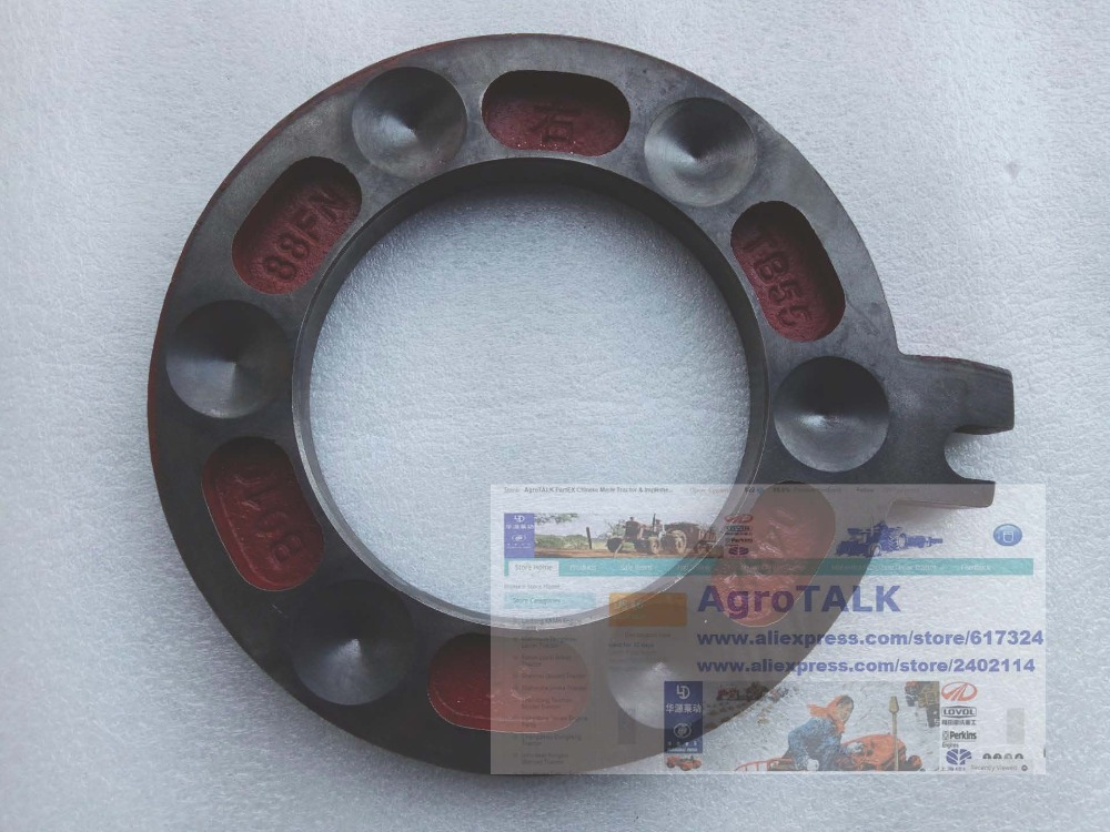 TB550.432.-01, the left brake plate for Foton Lovol TB series tractor<br>