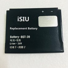 iSIU Mobile Phone Battery For Sony Ericsson G702 J110a K200a T707 W380i W580 W600c W805 TM717 W910i BST-39 920mAh BST39