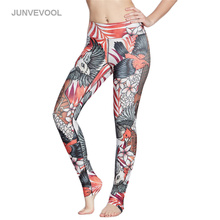 Buy 2017 Sexy Womens Leggings Workout Legging Fitness Gothic Leggins High Waist Elastic Capris Sportswear Pencil Pants Trousers for $12.63 in AliExpress store