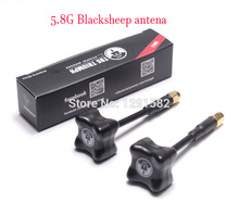 Blacksheep Black Sheep 5.8G antenna QAV RP SMA / SMA Clover 3 Blade transmitter mushroom antenna for FPV RC Quadcopter(China)