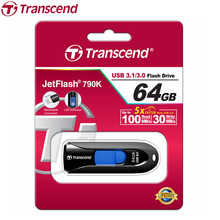 Transcend JetFlash 790 USB Flash Drive High Speed USB 3.1 3.0 Flash Pen Drive Business USB Flash Memory Stick 64GB 32GB 16GB 8GB(China)