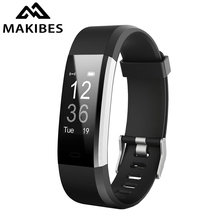 "Makibes ID115 Plus HR Smart Band 0.96"" OLED Heart Rate Sports Wrist band Bracelet Call Reminder Multi-sport Fitness Tracker(China)"