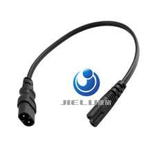 "Free ship C7/C8 Power ""8"" Figure Adapter Converter Cable,European IEC320 C7 Female to C8 Male Plug Extension Cord,30CM"