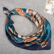2017 New Fashion Square Scarf Small Silk Scarves for Women/men Bandanna Headwear/Hair Band Scarf Neck Wrist Wrap Band Headtie