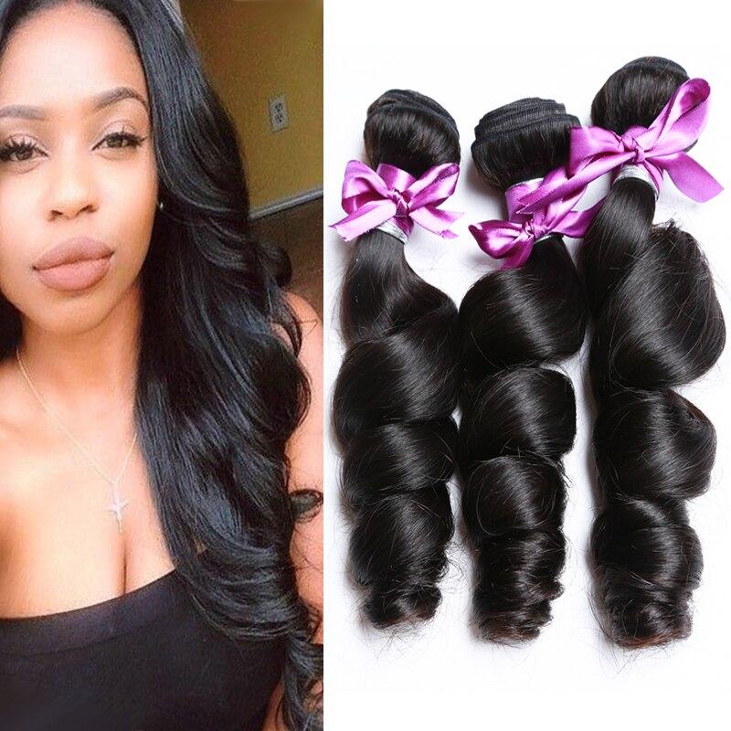 4 Bundles Malaysian Loose Wave Malaysian Virgin Hair Loose Wave Weave Loose Curly Virgin Hair Short Weave Human Hair Bundles<br><br>Aliexpress