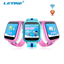 Letine Q100 Electronic Wrist Watches Q750 Bluetooth Android Smart Watch Cell Phone with GPS Remote Camera SIM for Children Boys(China)
