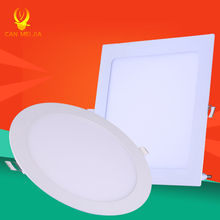 Ultra Thin Led Panel Downlight 3w 4w 6w 9w 12w 15w 18w Round Square LED Ceiling Recessed Light AC85-265V LED Panel Light SMD2835