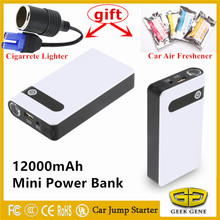 Best Car Jump Starter 12000mAh High Power Bank Portable Car Charger Multi-function Start Jumper Emergency Auto Battery Booster