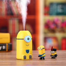 New Cartoon Minions Air Humidifier USB Ultrasonic Essential Oil Diffuser Difusor De Aroma With Night Light Mist Maker Fogger