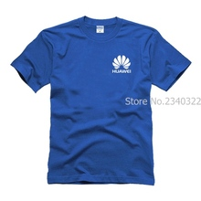 overalls mobile phone shop staff Huawei T-shirt work clothes cotton LOGO men and women in summer short-sleeved tooling T shirt