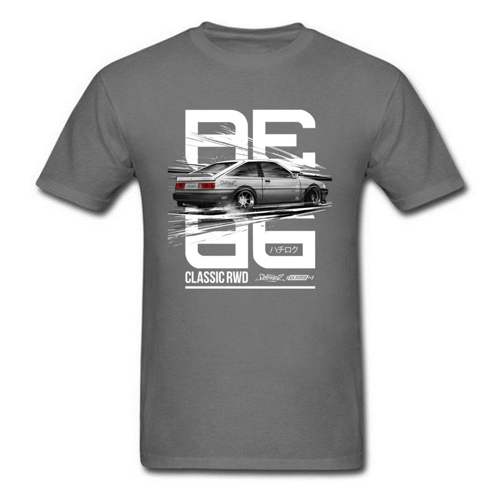 Leisure CLASSIC RWD DRIFT SERIES ae86 T-shirts for Men 2018 Popular Father Day Round Neck 100% Cotton T-shirts Tops & Tees CLASSIC RWD DRIFT SERIES ae86 carbon