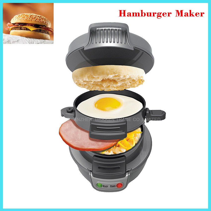 Breakfast Sandwich maker hamburger Press Burger Maker multifunction household hamburger sandwich maker Pizza BBQ Patty Maker<br>