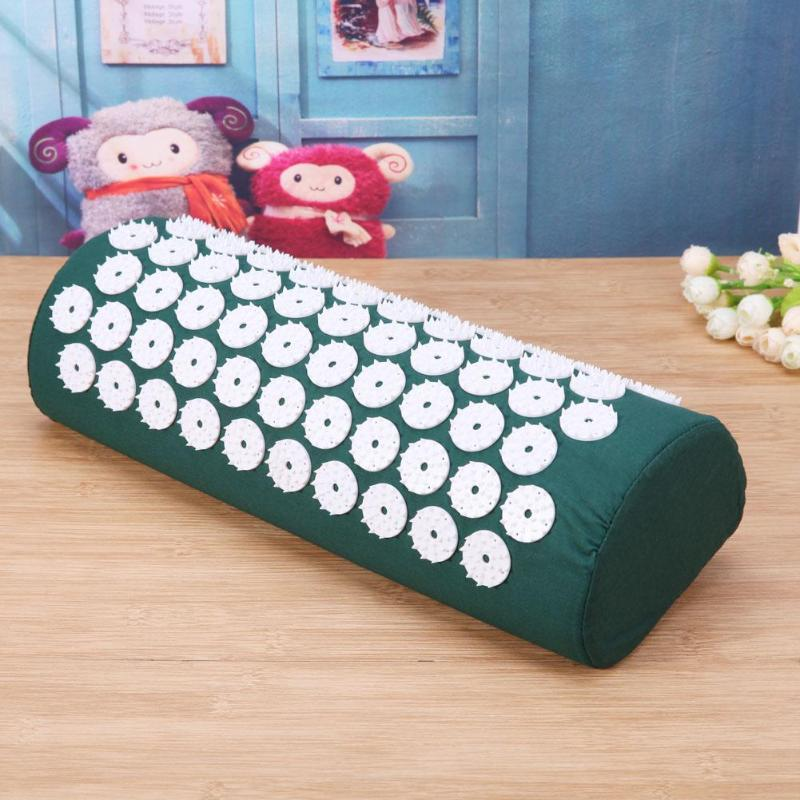 Furniture - Acupressure Massager Pillow Pain Reliever Body Foot Pain Stress Pad
