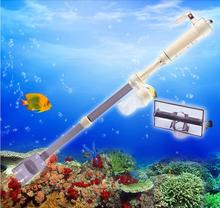 Aquarium Battery Syphon Operated Fish Tank Vacuum Gravel Water Filter Clean,siphon filter cleaner,fish tank tools,aquarium