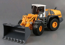 Shovel truck model 1:50 ABS Alloy diecast truck 4 rubber wheels construction shovel truck model engineer machine toy vehicles