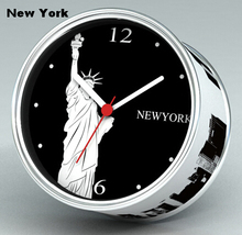 [In Stock] New York Magnetic Cheap Wall Clocks,Cheap Desk Clocks,Cheap Table Function Clocks in Free Shipping(China)