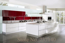 white lacquer kitchen cabinet Foshan furniture factory high quality furniture China buying agent(China)